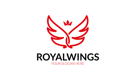 Royal wings Logo.