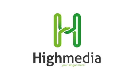 High Media Logo Illustration