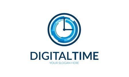 o'clock: Logo Digital Timer