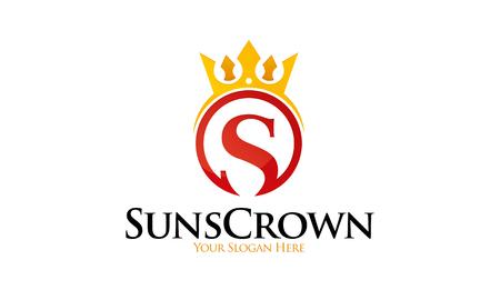 king s: Sun Crown Logo