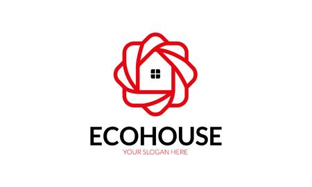 right choice: Eco House Logo