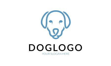 simple store: Dog logo.