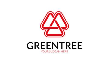 increased: Green Tree Logo.