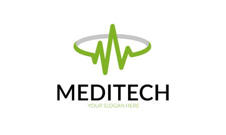 Meditech Logo. Illustration