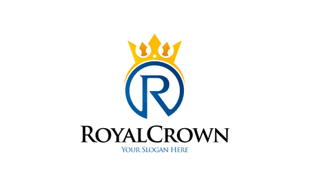 Logo Royal Crown Banque d'images - 75452287