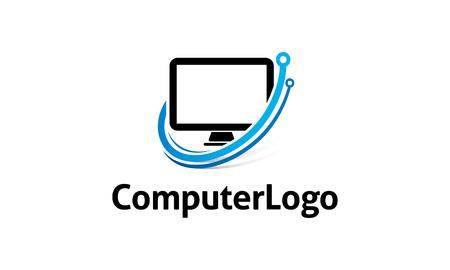 A computer logo