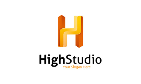 High Studio Logo Illustration