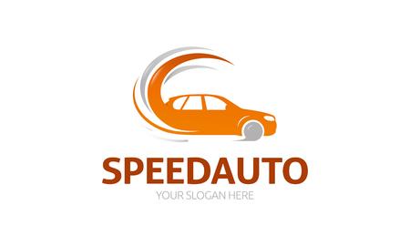 Speed ??Auto Logon Stock Vector - 75655779