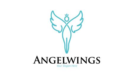 Angel Wings Logo Stock Vector - 75814026