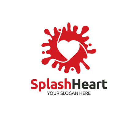 Splash Heart Logo