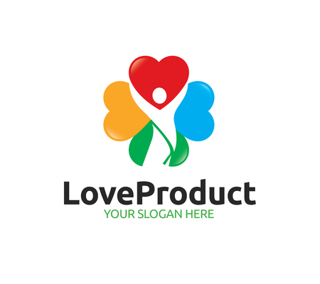 Love Product Logo Template