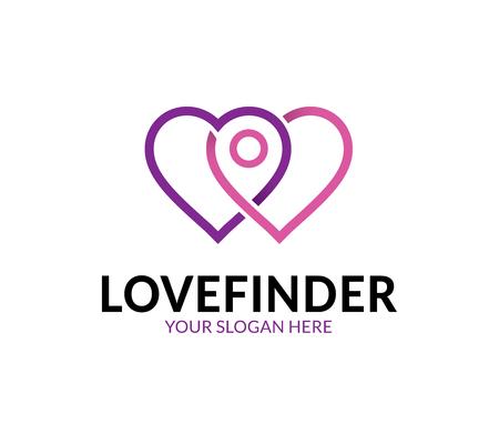 Love Finder-Logo Logo