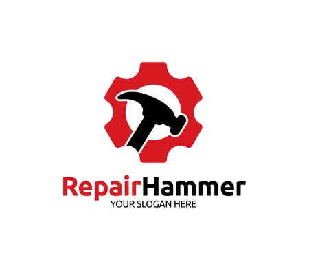 Repair Hammer Logo