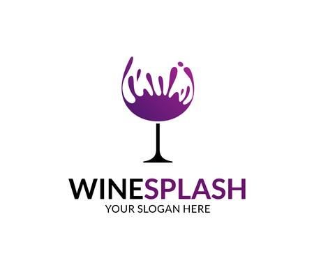 Wine Splash Logo