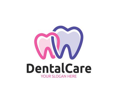 Dental Care Logo Template Illustration