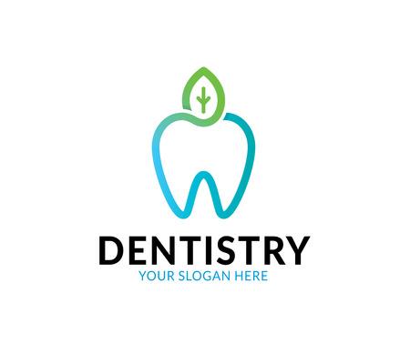 Dental Care Logo Illustration