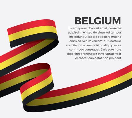 Belgium flag for decorative.Vector background Stock fotó - 112799062