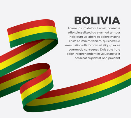 Bolivia flag for decorative.Vector background Stock fotó - 112799063