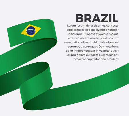 Brazil flag for decorative.Vector background Stock fotó - 112799064