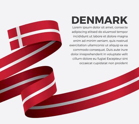 Denmark flag for decorative.Vector background Stock fotó - 112799074