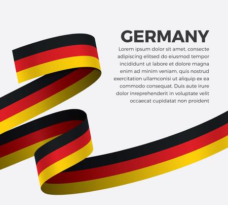 Germany flag for decorative.Vector background Illusztráció