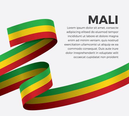 Mali flag vector illustration