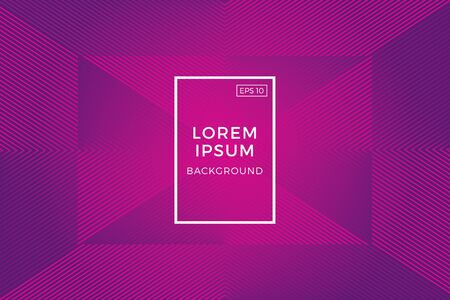 Minimal geometric background. Simple shapes with trendy gradients. Dynamic style banner design suitable for poster, web, landing page, cover, and greeting card promotion. social media - stock illustration Banque d'images - 144196690