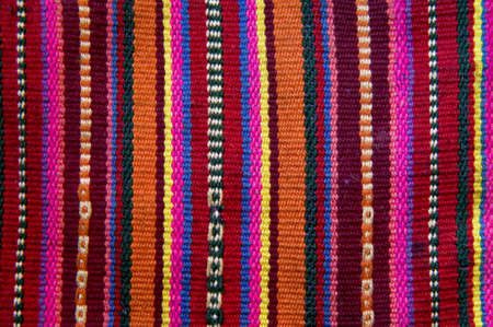 andean tapestry Stock Photo