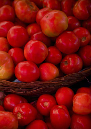 Tomatoes in basquet