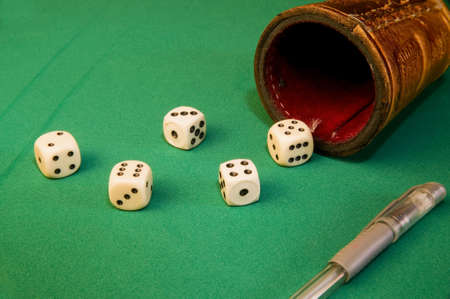 Game of dice photo