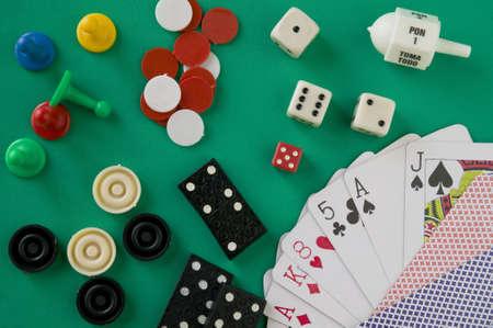 Several board games