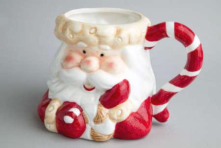bowl of Santa Claus photo