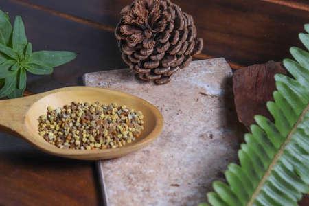 Pollen grains - Natural medicine - Health - Proteins Stock fotó