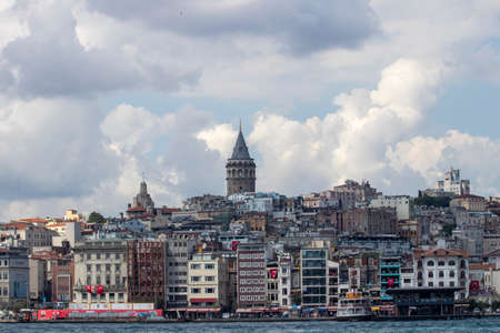 Galata Tower Turk, the tallest and oldest tower in Istanbul