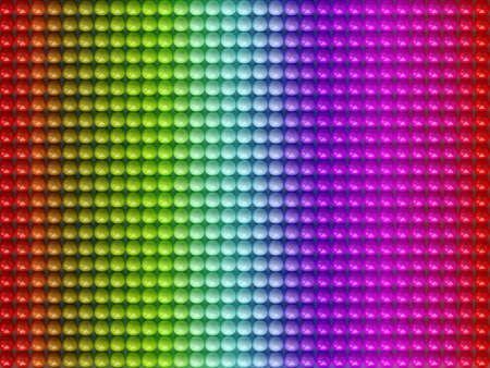colour balls 3D high quality render Stock Photo