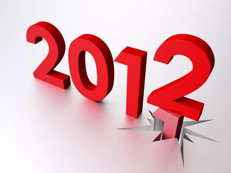 2012 Stock Photo - 10544870