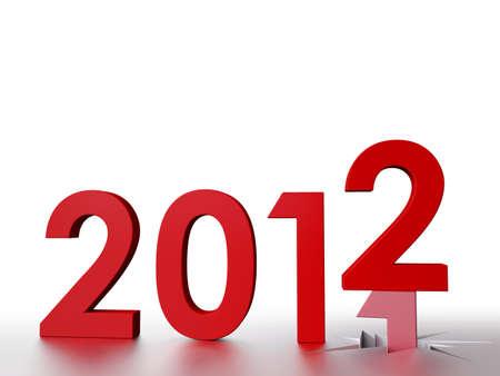 2012 Stock Photo - 10544863
