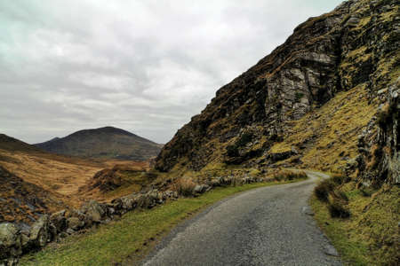 kerry: Beautifull pass in hills of Dingle