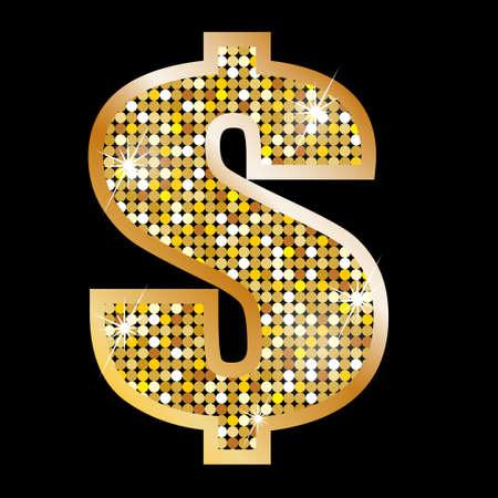 dollar symbol: Sign of dollar
