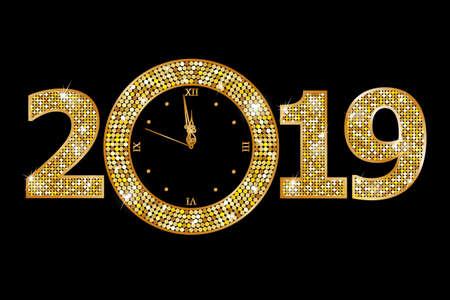 Happy new year 2019 Çizim