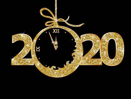 Weihnachtskugel 2020 Neujahr
