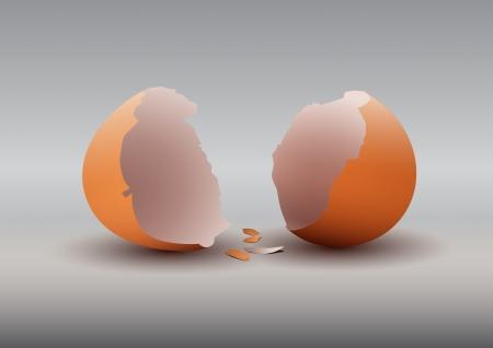 broken eggs: broken eggs