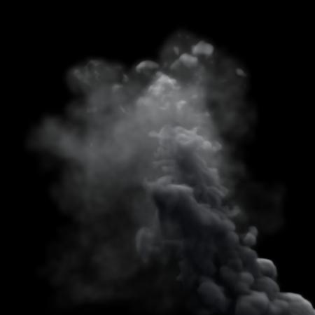 Grey Smoke Stock Photo - 23079224