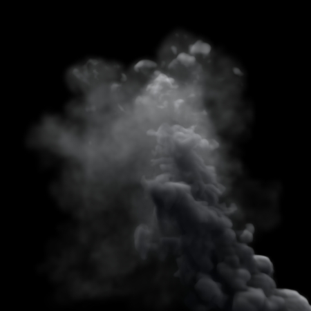 Grey Smoke Stock Photo - 23079224