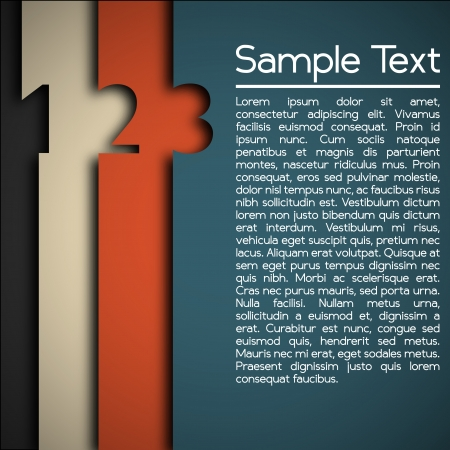 Modern Design Layout Vector