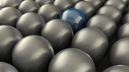 stand out: 3D Abstract Spheres