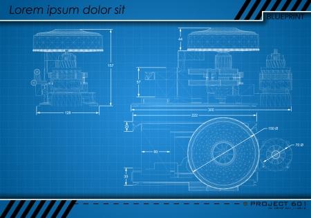 Abstract Blueprint