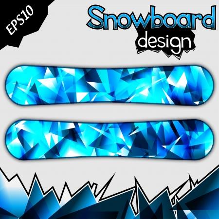 Snowboard Design     イラスト・ベクター素材