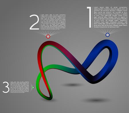 Modern Design Layout Vector Illustratie