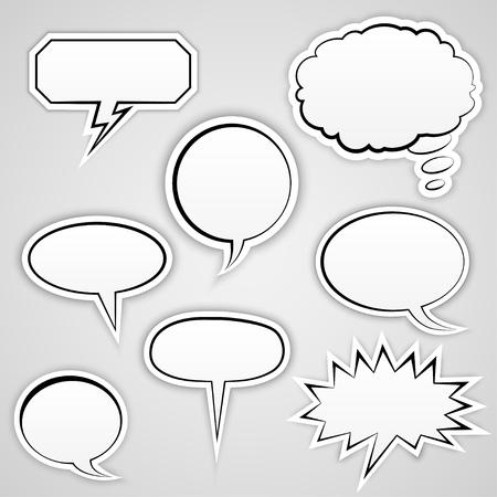 speech bubble: Speech Bubbles Collection